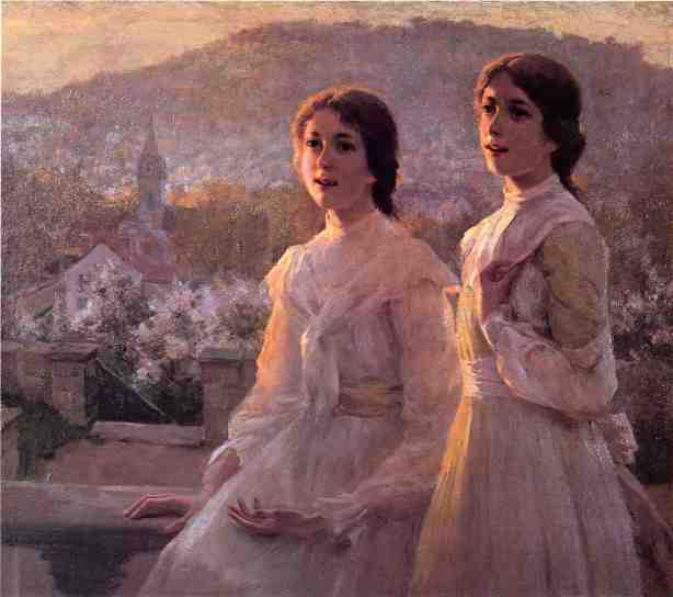 Oil on canvas by Hamilton Hamilton, 1894